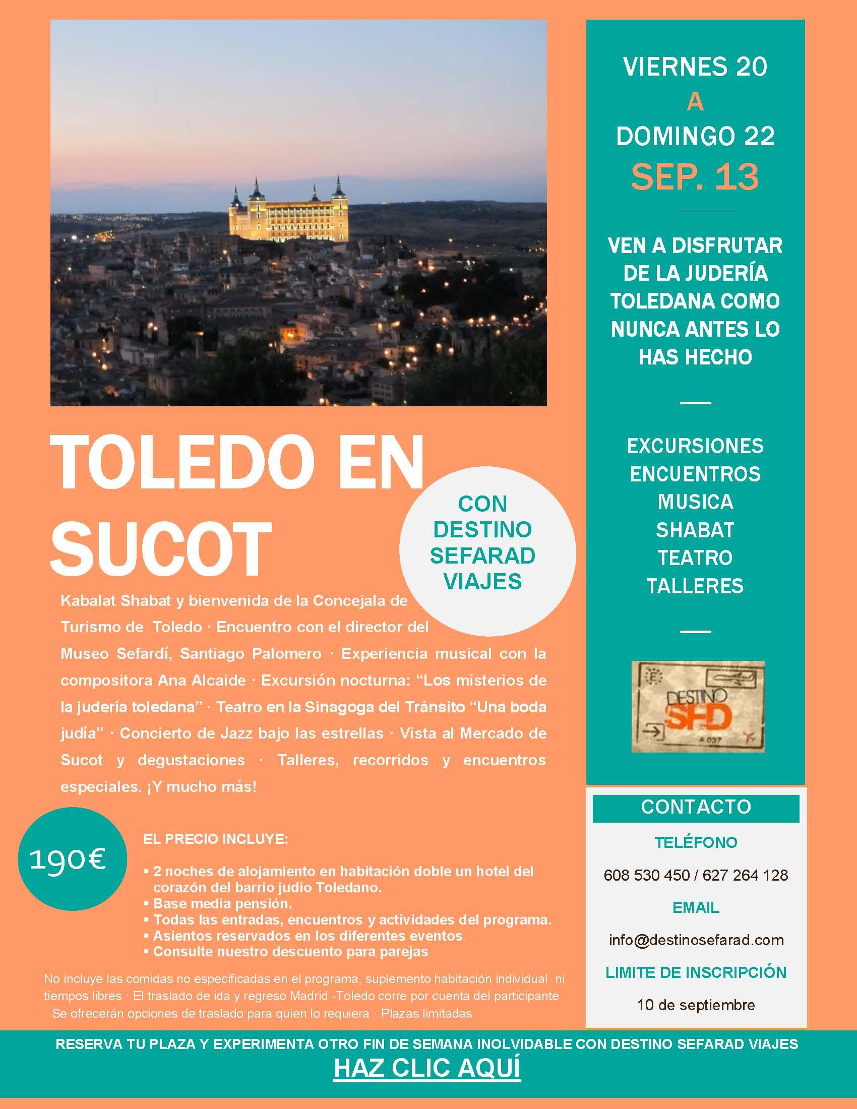 Toledo en Sucot